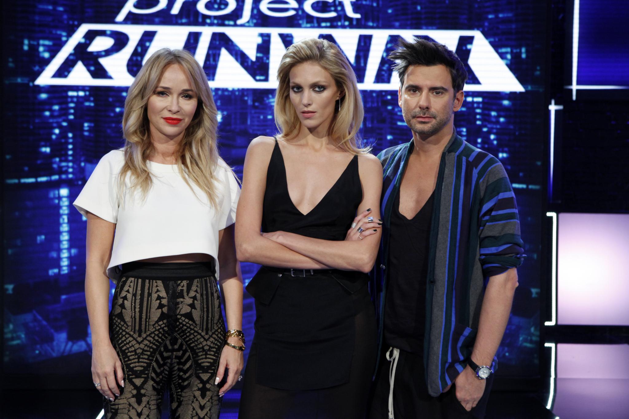 Joanna Przetakiewicz, Anja Rubik, Marcin Tyszka
